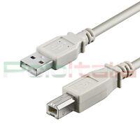Cavo da 0,25 a 10m USB 2.0 tipo A/B per stampante Hp prolunga dati pc hard disk