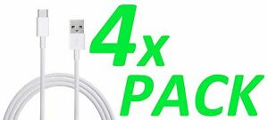 4x Type-C 6.6 Ft Extra Long Data Sync Fast Charger Charging Cable Cord LG G8 V50