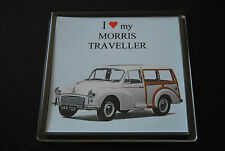Morris Minor, Moggie traveller - Classic car - Collectors present - Fun Gift