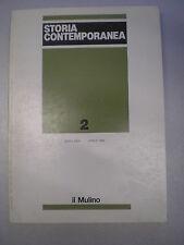STORIA CONTEMPORANEA, ANNO XXVII, N. 2, Rivista, Il Mulino, aprile 1996