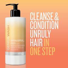 REDKEN GENIUS WASH CLEANSING CONDITIONER (UNRULY HAIR) 16.9oz