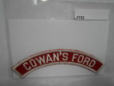 COWAN'S FORD RED & WHITE CITY STRIP  F722