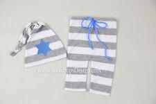 Star of David Newborn pants hat set for wooden moon photography prop