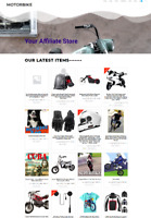 MOTORBIKE WEBSITE BUSINESS - RUN FROM HOME - DOMAIN - FULLY STOCKED
