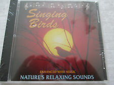 Singing Birds enchanced with music nature's relaxing sounds - CD Neu & OVP NEW