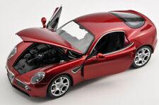 BLITZ VERSAND Alfa Romeo 8 C Competizione rot red 1:24 Welly Modell Auto NEU BOX