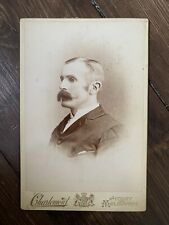 Cabinet Card - Charlemont & Co - Sydney - Portrait of a Moustached Gent