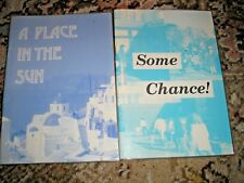 LOT 2 LARGE PRINT CHILDREN'S READING BOOKS A PLACE IN THE SUN & SOME CHANCE!