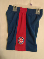 MLB Chicago Cubs 24 Months Elastic Waist Polyester Shorts NWT