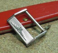 Fibbia vintage acciaio LONGINES  - Vintage Buckle steel  - 17 mm - '50