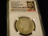 2019-S  Half Dollar   Early Releases     NGC PF 70 Ultra Cameo