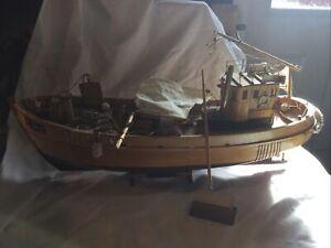 Vintage Model Wooden Boat SPARES & REPAIRS (CG02/17) See Description
