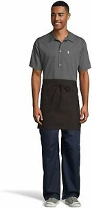 Uncommon Threads Unisex Waist Apron 22W X 18L, Brown, One, Brown, Size One Size