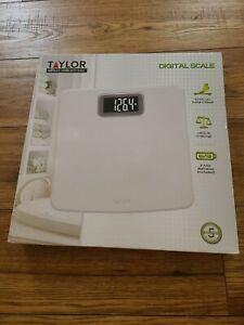 Taylor Digital Bath Scale,new
