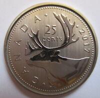 2017 CANADA 25 CENTS SPECIMEN QUARTER COIN