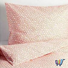 IKEA TRÄDASTER Bettwäsche Bettbezug 140x200 cm Bettwäscheset orange Garnitur NEU