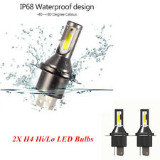 2PCS H4 Car LED Headlight 26000LM 110W Kit Conversion Bright Bulb Full Aluminum