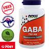 Now Foods, GABA, 750 mg, 200 Vegan Capsules - Neurotransmitter Support*