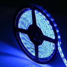 Blue 5M NON Waterproof 300 LED 3528 SMD Flexible LED Light Lamp Strip DC 12V