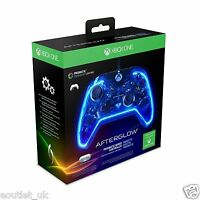 PDP Afterglow Prismatic Wired Controller for Xbox One NEW Colour Changing X1