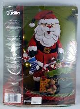 Bucilla 3-D SANTA Felt Home Decor Kit  86251