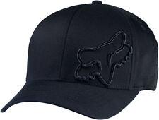 Fox Flex 45 Flexfit Hat-Black-S/M -  Mens Lid Cap