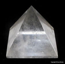Big Crystal Quartz Healing Pyramid Spiritual Reiki Divine Point Energy