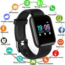 Smart Watch Android Phone Bluetooth Samsung IOS Waterproof Blood Pressure Sport