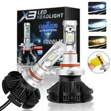 2X Led Car Bulbs 3000 6500 8000K ZES Chip SUV 6000LM Headlight Bulb 50W Bulbs