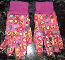 Nickelodeon Pink Paw Patrol Kids Gardening Gloves NEW!
