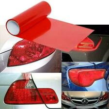 "12 x 48"" Glossy Red Vinyl Wrap Overlay Film For Subaru Tail Light Lamps"