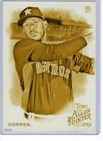 Carlos Correa 2019 Allen and Ginter 5x7 Gold #351 /10 Astros