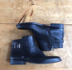 Alfani Step-n-Flex Faux Leather Boots Size 7.5 Women's