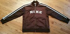Nike bronze Track Jacket Adult Large athletic sport/running/golf/bike/cycle/zip