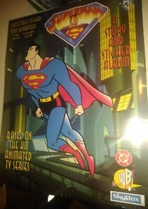 1996 DC Skybox SUPERMAN Story and Sticker Album clean from case 25+ years old