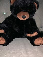 RARE Build a Bear Workshop Black Bear II Retired August 2001 Vintage BABW