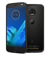 Excellent Motorola Moto Z2 Force XT1789-04 64GB Super Black AT&T + GSM Unlocked