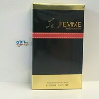 Le Femme by Armaf 3.4 oz EDP Spray for Women NEW In BOX