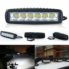 6 LED Fog Light / Work Light Bar Spot Beam Off Road Driving Lamp 1 Pc 18W CREE