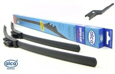 "SEAT LEON 2012-on super flat front windscreen WIPER BLADES 26""16"" FROM ALCA"