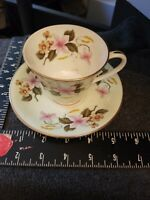 AYNSLEY Tea Cup And Saucer ~ Flowers ~ England