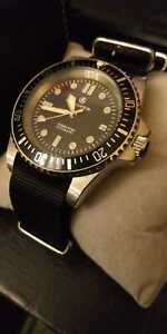 Cooper Submaster Automatic Divers Watch SM8017 - NATO STRAP