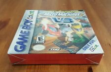 Gameboy Color Game MICRO MACHINES V3 48 Tracks 15 Vehicles SEALED gbc