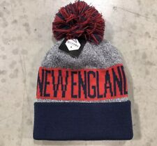 53f85fbc284 ... where can i buy nwt new england patriots team color pom pompom beanie hat  cap free ...