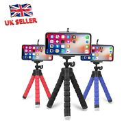 Universal Mini Mobile Phone Holder Tripod Stand Grip For iPhone Cameras - UK Sel