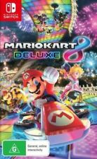 Mario Kart 8 Deluxe Nintendo Switch 100% Australia Version Brand New & Sealed