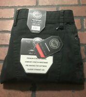 Weatherproof Stretch & Comfort Black Pants Men's Size 34 x 29