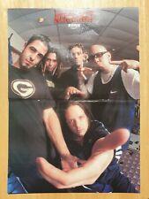 KORN / Tim Wheeler ASH Kerrang! Magazine POSTER 1997