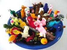 100 Peruvian Wool Finger Puppets Toys Handmade Collectable New Art Peru