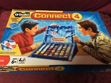 2010 Hasbro U-Build Connect 4 Four Complete Family Board Game SHIPS RIGHT NOW!